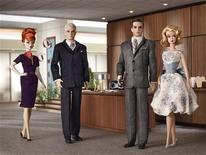 """<p>The """"Mad Men"""" Barbie Collection in an image courtesy of Mattel. REUTERS/Handout</p>"""