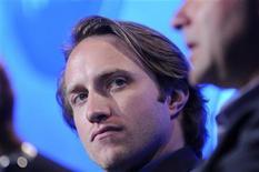 <p>Chad Hurley, amministratore delegato nonché cofondatore di YouTube, in foto d'archivio. REUTERS/Phil McCarten</p>