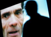 <p>Proiezione di Pier Paolo Pasolini, foto d'archivio. REUTERS/Alessia Pierdomenico</p>