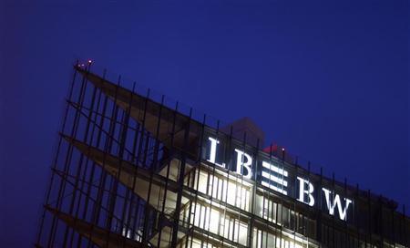 The headquarters of Germany's biggest landesbank, LBBW, are pictured in Stuttgart December 7, 2009. REUTERS/Johannes Eisele