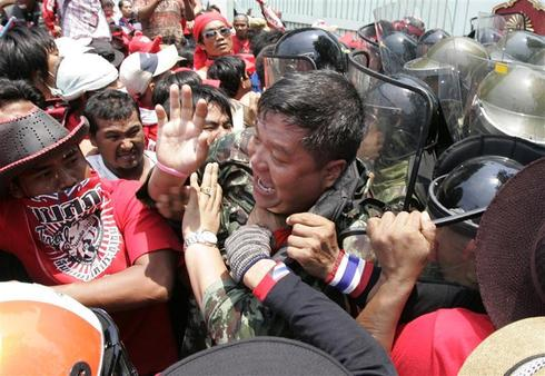 Thai protests turn deadly