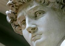 <p>Particolare del David di Michelangelo</p>