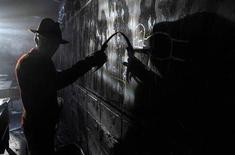 """<p>A scene from """"A Nightmare on Elm Street"""". REUTERS/New Line Cinema</p>"""