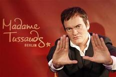 <p>The wax figure of Quentin Tarantino is pictured after an unveiling ceremony at Madame Tussauds in Berlin, March 23, 2010 file photo. REUTERS/Tobias Schwarz</p>