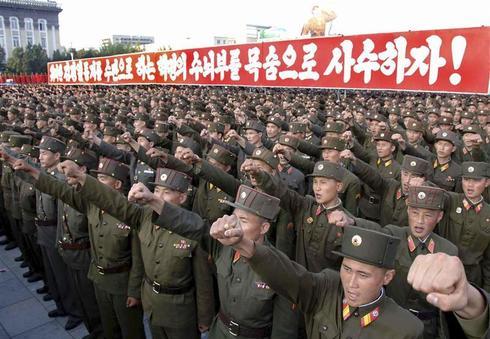 Koreas in conflict