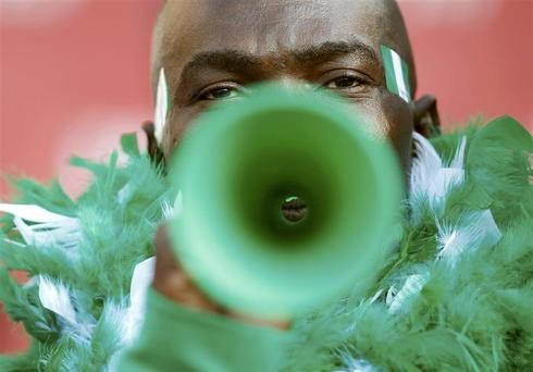 That vuvuzela noise
