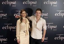 "<p>U.S. actress Ashley Greene and Australian actor Xavier Samuel pose during a photocall to promote their latest film ""The Twilight Saga: Eclipse"" in Madrid June 28, 2010. REUTERS/Sergio Perez</p>"