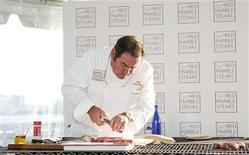 <p>Chef, cookbook author and television presenter Emeril Lagasse is shown in New York on June 29, 2010. REUTERS/handout/Steven Freeman</p>