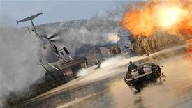 """<p>A screenshot from the """"James Bond 007: Blood Stone"""" video game courtesy of Activision. REUTERS/Activision</p>"""