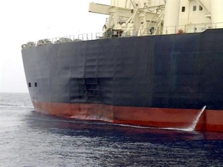 Japan supertanker probe reveals smashed hull - Reuters