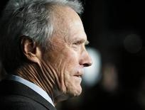 """<p>Director Clint Eastwood is interviewed at the Los Angeles premiere of his film """"Invictus"""" in Beverly Hills, California December 3, 2009. REUTERS/Fred Prouser</p>"""