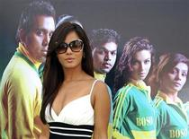 <p>Bollywood actress Neetu Chandra poses for a picture during the launch ceremony of a dance academy in Mumbai December 12, 2009. REUTERS/Manav Manglani</p>