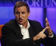 <p>Imagen de archivo del ex ejecutivo de Hewlett-Packard Mark Hurd, durante una conferencia en Pasadena, Estados Unidos. Ago 6 2010 Oracle Corp ofreció a su nuevo copresidente y antiguo director de Hewlett-Packard Co (HP), Mark Hurd, un salario de 950.000 dólares y un bono de hasta 10 millones de dólares para el año fiscal 2011, más opciones sobre acciones. REUTERS/Fred Prouser/ARCHIVO</p>