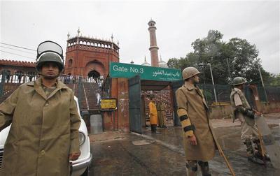 Firing incident in Delhi