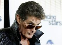 "<p>Actor David Hasselhoff poses backstage after the premiere of ABC's series ""Dancing with the Stars Season 11"" in Los Angeles September 20, 2010. REUTERS/Fred Prouser</p>"