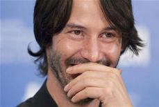 """<p>Actor Keanu Reeves attends a news conference to promote the film """"Henry's Crime"""" during the 35th Toronto International Film Festival, September 14, 2010. REUTERS/Fred Thornhill</p>"""