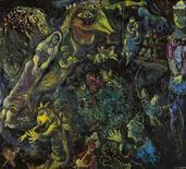 """<p>Imagen sin fechar de la obra """"Bestiaire et Musique"""" del pintor Marc Chagall. Una obra de arte del maestro modernista Marc Chagall se convirtió en la pintura contemporánea occidental más cara vendida en Asia cuando fue subastada por 4,18 millones de dólares luego de pujas constantes en una venta en Hong Kong. REUTERS/Seoul Auction handout</p>"""