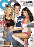 <p>Glee cast members Cory Monteith, Dianna Agron and Lea Michele on the cover of the November issue of GQ magazine. REUTERS/Terry Richardson/GQ/Handout</p>