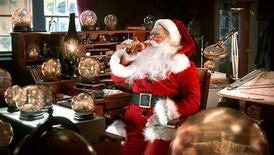"<p>Santa Claus enjoys a Coca Cola in this publicity image released to Reuters October 25, 2010 from its upcoming Christmas advertising campaign. The rock band Train released a song, ""Shake Up Christmas,"" as a key part of Coca-Cola Co.'s new Christmas advertising campaign that in past years has featured people or animals that have become iconic for generations of TV viewers. REUTERS/McCann, Madrid for Coca Cola/Handout</p>"