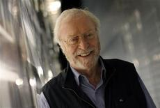<p>Actor Michael Caine poses for a photograph during an interview with Reuters in New York, October 26, 2010. REUTERS/Mike Segar</p>