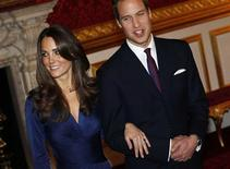 <p>Prince William and his fiancee Kate Middleton (L) pose for a photograph in St. James's Palace, central London November 16, 2010. REUTERS/Suzanne Plunkett</p>