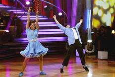 <p>Bristol Palin and her professional dance partner Mark Ballas are shown as they perform during the ABC reality series 'Dancing with the Stars' finals in Hollywood, November 22, 2010. REUTERS/Adam Larkey/ABC/Handout</p>