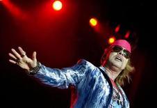 <p>Axl Rose of Guns N' Roses performs during the Sweden Rock Festival 2010 in Solvesborg, Sweden, June 12, 2010. REUTERS/Claudio Bresciani/Scanpix Sweden</p>