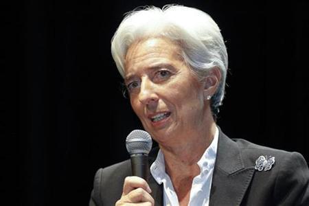 France's Finance Minister Christine Lagarde attends a news conference in Lyon, southeastern France, November 9, 2010. REUTERS/Robert Pratta