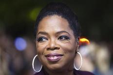 <p>Oprah Winfrey no Festival de Cinema de Toronto em 2009. O canal OWN (Oprah Winfrey Network) começa atividades em 1o. de janeiro com seriados dirigidos fortemente ao público feminino, estilo de vida e programas na linha auto-ajuda. 13/09/2009 REUTERS/Mark Blinch/Arquivo</p>