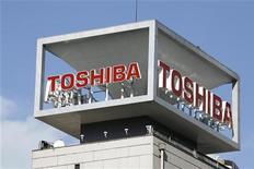 <p>Toshiba va faire à son tour son entrée sur le marché en plein essor des tablettes en lançant un premier modèle dans le courant du premier semestre. /Photo d'archives/REUTERS/</p>