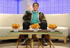 "<p>Homeless man Ted Williams appears on NBC's ""Today"" show in New York January 6, 2011. Williams appeared on YouTube as a homeless man begging for money and has become a national sensation due to his voice. REUTERS/Peter Kramer/NBC/Handout</p>"