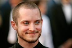 """<p>Elijah Wood no Festival de Cannes em 2006. Para o ator, filmar """"The Hobbit"""", de Peter Jackson, vai ser como uma reunião de família da Terra Média. 18/05/2006</p>"""
