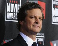 <p>British actor Colin Firth, star of the film 'The King's Speech', arrives at the 16th Annual Critics' Choice Movie Awards in Hollywood, California January 14, 2011. REUTERS/Phil McCarten</p>