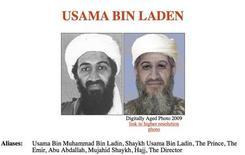 """<p>Фотографии лидера """"Аль-Каиды"""" Усама бен Ладена, представленные работниками спецслужб США в Вашингтоне, 15 января 2010 года. Лидер экстремисткой группировки """"Аль- Каида"""" Усама бен Ладен попросил своего заместителя напомнить исламистским боевикам о том, что объектом их атак не должно становиться мирное население. REUTERS/U.S. State Department/Handout</p>"""