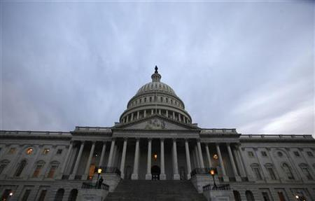 The Capitol building is seen before President Barack Obama arrives to deliver his State of the Union address on Capitol Hill in Washington, January 25, 2011. REUTERS/Jim Bourg