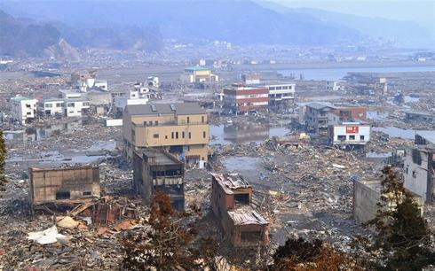 The town that washed away