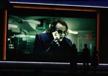 "<p>Heath Ledger is seen on screen from the movie ""The Dark Knight"" at the 14th annual Critics' Choice awards in Santa Monica, California, January 8, 2009. Ledger, who died on January 22, 2008, won Best Supporting Actor for the role. REUTERS/Danny Moloshok</p>"