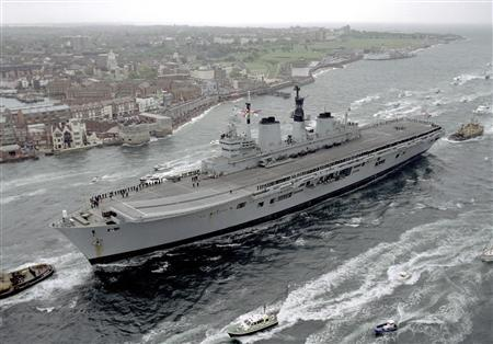 Rule the waves: One used aircraft carrier for sale - Reuters