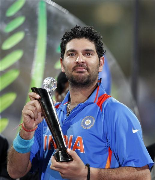 Player Of The World Cup Yuvraj Reuters Com