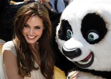 """<p>Voice actress Angelina Jolie poses during a photocall for the animated film """"Kung Fu Panda 2"""" during the Cannes Film Festival May 12, 2011. The Cannes film festival runs from May 11 to 22. REUTERS/Eric Gaillard (FRANCE - Tags: ENTERTAINMENT)</p>"""