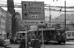 <p>Сараево во время обстрела в марте 1992 года. Сараево объявило в понедельник о создании музея в память о жестокой осаде города силами боснийских сербов. REUTERS/Danilo Krstanovic</p>