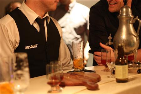 An eclectic drinks list is available at Auckland's speakeasy-style Suite Bar, shown in this undated photograph. REUTERS/Handout