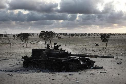 The ruins of Libya