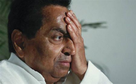India's Urban Development Minister Kamal Nath reacts to a question during an interview with Reuters in New Delhi June 17, 2011. REUTERS/Adnan Abidi