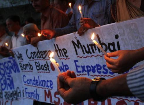 Three blasts rock Mumbai