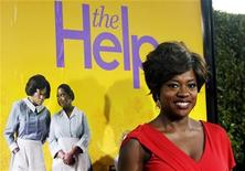 """<p>Cast member Viola Davis poses at the premiere of the movie """"The Help"""" at the Samuel Goldwyn Theatre in Beverly Hills, California August 9, 2011. REUTERS/Mario Anzuoni</p>"""