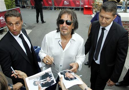 Al Pacino honored in Venice, presents new film   Reuters com