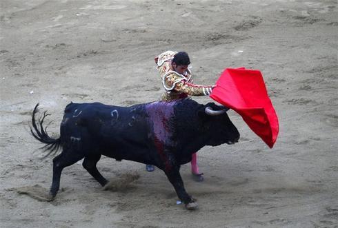 Last bullfight in Barcelona