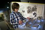 """<p>A view of the """"War Horse: Fact and Fiction"""" exhibition at the National Army Museum. REUTERS/James McCauley/Courtesy National Army Museum</p>"""