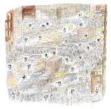 """<p>A New Yorker cover by cartoonist Jean-Jacques Sempe included in """"Un peu de Paris et d'ailleurs"""" (A Bit of Paris and Elsewhere), a retrospective of the French artist's six-decade career, at Paris city hall. REUTERS/J.-J. Sempé/Courtesy of Sempé à New York</p>"""